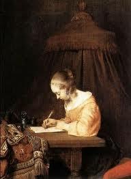 donna scrittoio